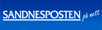 Sandnesposten på nett logo